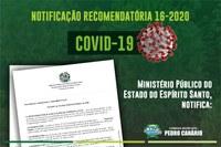 Ministério Público do Estado do Espírito Santo, notifica: